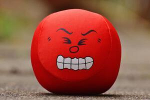 Smiley Mut zur Wut